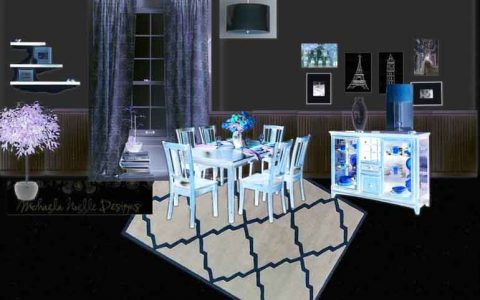 picture of dining-roon-set-decors